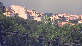 Tarragona Balcon Del Mediterraneo übersehen stock video