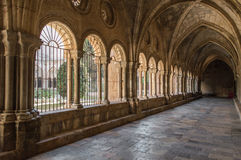 Tarragona cathedral cloister Royalty Free Stock Photos
