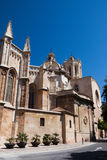 Tarragona cathedral in Spain. Cathedral in Tarragona town in province of Catalonia,  Spain Royalty Free Stock Image