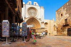 Tarragona Cathedral. Spain Stock Photos