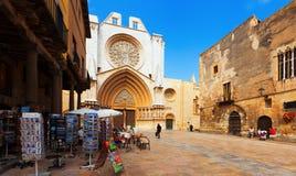 Tarragona Cathedral Stock Photography