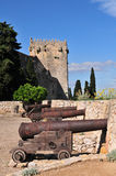Tarragona city walls Royalty Free Stock Photography