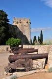 Tarragona city walls Royalty Free Stock Photography
