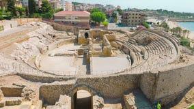 Tarragona, Costa Daurada em Catalonia, Espanha vídeos de arquivo