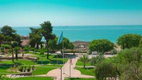 Tarragona, Costa Daurada, Hiszpania zbiory wideo