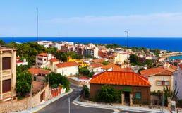 Tarragona en Middellandse-Zeegebied. Catalonië royalty-vrije stock foto's