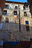 Tarragona gatasikt på Juni 20, 2016 i Tarragona, Spanien Arkivfoto