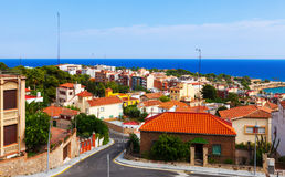 Tarragona and Mediterranean. Catalonia Royalty Free Stock Photos