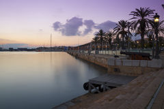 Tarragona recreational harbor Stock Photos