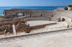 Tarragona roman colosseum Stock Images