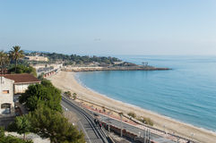 Tarragona. Sea Front, Spain coastal near Barcelona stock photos