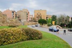Tarragona sikt Fotografering för Bildbyråer