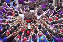 TARRAGONA, SPAGNA - 6 OTTOBRE 2012 Fotografia Stock