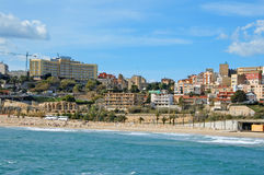 Tarragona, in Spain. View of Tarragona in Spain royalty free stock images