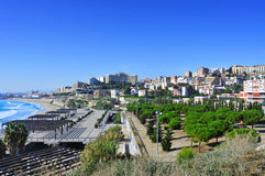 Tarragona, Spain. A panoramic view of Tarragona, in Spain Stock Photography