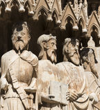 Tarragona Spain: gothic cathedral Royalty Free Stock Images
