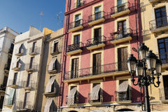 Tarragona Spain: historic buildings Royalty Free Stock Image