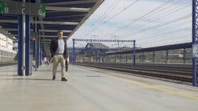 AVE High-speed train arriving at Camp de Tarragona Train station