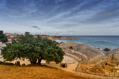 Tarragona Spain: Roman amphiteater Royalty Free Stock Photos