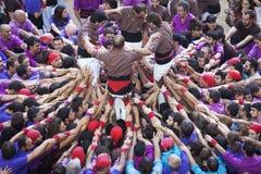 TARRAGONA SPANIEN - OKTOBER 6, 2012 Arkivbild