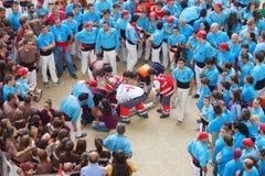 TARRAGONA SPANIEN - OKTOBER 6, 2012 Arkivbilder