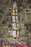TARRAGONA SPANIEN - OKTOBER 6, 2012 Arkivfoton