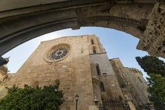 Tarragona (Spain): gothic cathedral Stock Photos