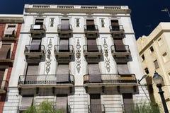 Tarragona & x28; Spain& x29;: historische gebouwen Stock Foto's