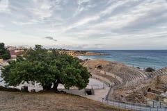 Tarragona (Spain): Roman amphiteater Royalty Free Stock Photos