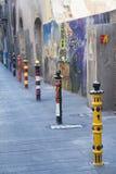 Tarragona & x28; Spain& x29; stara ulica Obrazy Royalty Free