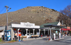 Tarras Township in Central Otago, New Zealand Royalty Free Stock Photography