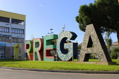 Tarrega, Lleida Stock Image
