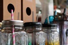 Tarro colorido Fotos de archivo libres de regalías