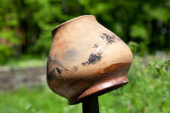 Tarro de cerámica Foto de archivo