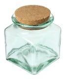 Tarro de cristal Foto de archivo libre de regalías