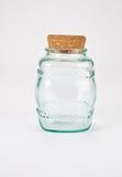 Tarro de cristal del modelo Imagen de archivo