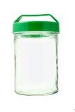 Tarro de cristal vacío Imagen de archivo