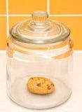 Tarro de galleta Foto de archivo libre de regalías