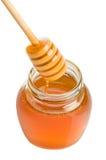 Tarro de la miel Fotografía de archivo