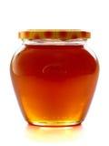 Tarro de la miel. Foto de archivo