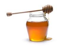 Tarro de la miel Imagenes de archivo