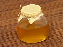 Tarro de la miel. Fotos de archivo