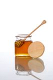 Tarro de la miel Fotos de archivo