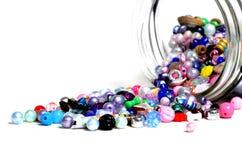 Tarro de las gotas para crear a Art Hobbies Jewelry Foto de archivo