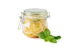 Tarro de limones imágenes de archivo libres de regalías
