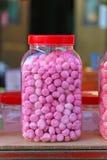 Tarro de los dulces Imagen de archivo