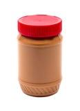 Tarro de mantequilla de cacahuete imagenes de archivo