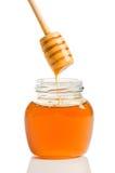 Tarro de miel Imagen de archivo libre de regalías