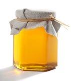 Tarro de miel Imagenes de archivo