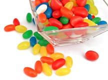 Tarro del caramelo Fotos de archivo